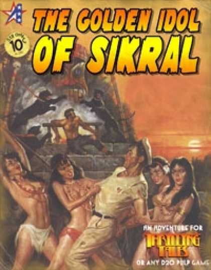 Role Playing Games - THRILLING TALES: The Golden Idol of Sikral