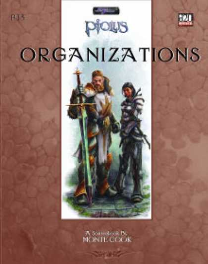 Role Playing Games - Ptolus: Organizations