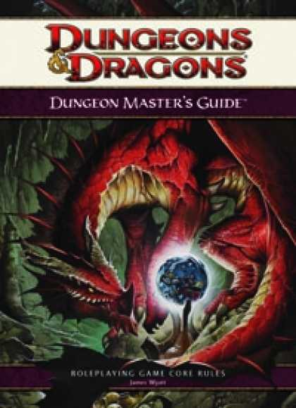 Role Playing Games - 4th Edition Dungeon Master's Guide