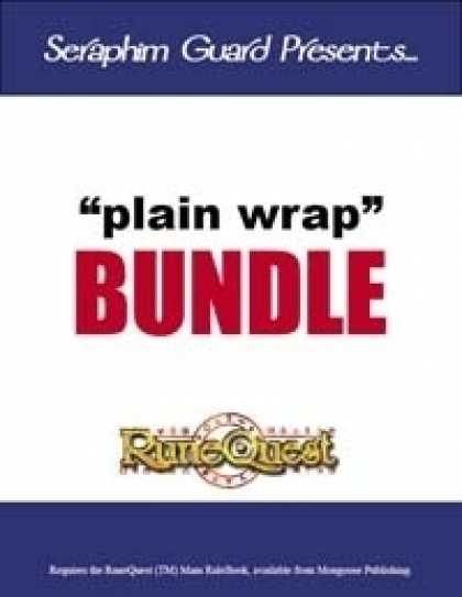 Role Playing Games - Plain Wrap Supplements (RuneQuest) [BUNDLE]