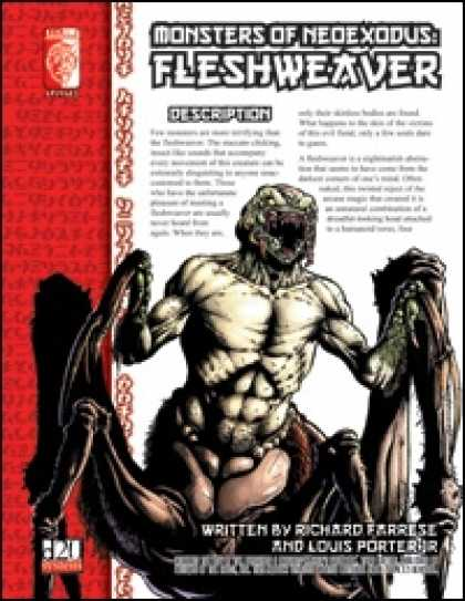 Role Playing Games - Monsters of NeoExodus: Fleshweaver