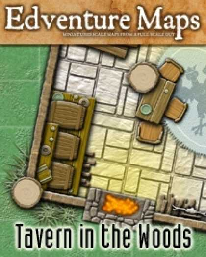 Role Playing Games - Edventure Maps: Tavern in the Woods