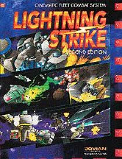 Role Playing Games - Lightning Strike Rulebook 2nd Edition