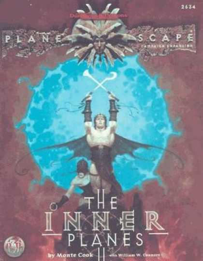 Role Playing Games - AD&D Planescape The Inner Planes