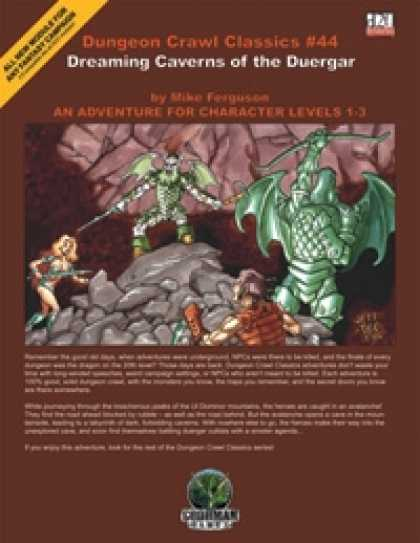 Role Playing Games - Dungeon Crawl Classics #44: Dreaming Caverns of the Duergar