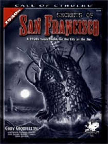 Role Playing Games - Secrets of San Francisco