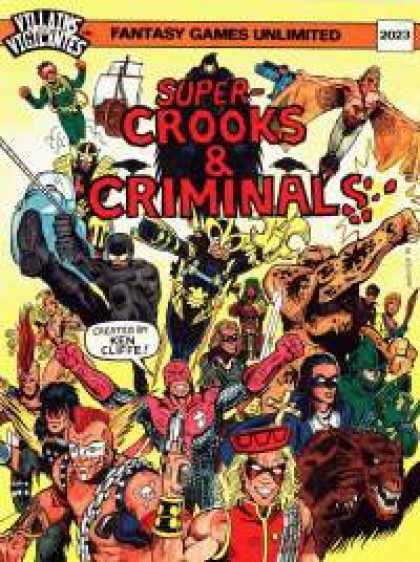 Role Playing Games - Super-Crooks & Criminals
