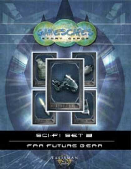 Role Playing Games - Gamescapes: Story Cards, Sci-fi Set 2