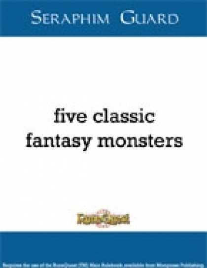Role Playing Games - Five Classic Fantasy Monsters (Runequest)