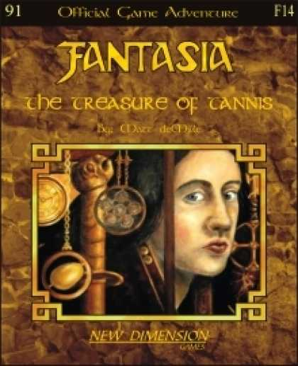 Role Playing Games - Fantasia: The Treasure Of Tannis--Adventure F14