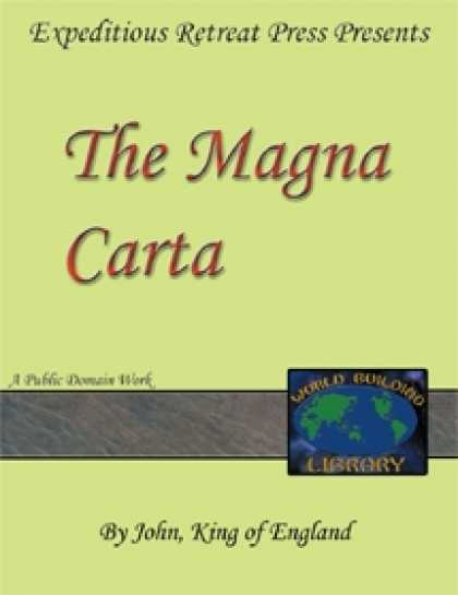 Role Playing Games - World Building Library:The Magna Carta