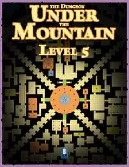 Role Playing Games - The Dungeon Under the Mountain: Level 5