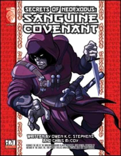 Role Playing Games - Secrets of NeoExodus: Sanguine Covenant