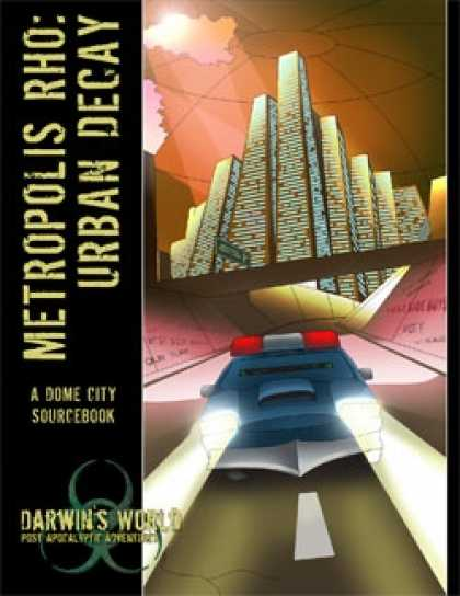 Role Playing Games - Metropolis Rho: Urban Decay
