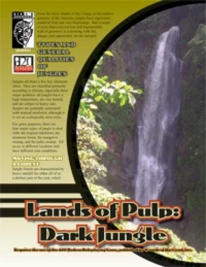 Role Playing Games - Land of Pulp: Dark Jungle