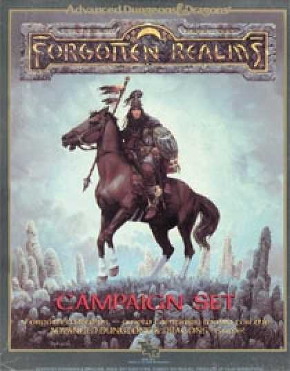 Role Playing Games - Forgotten Realms Campaign Set