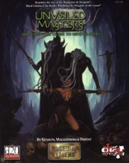 Role Playing Games - Unveiled Masters: the Essential Guide to Mind Flayers