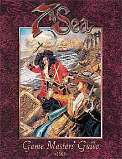 Role Playing Games - 7th Sea: Game Master's Guide