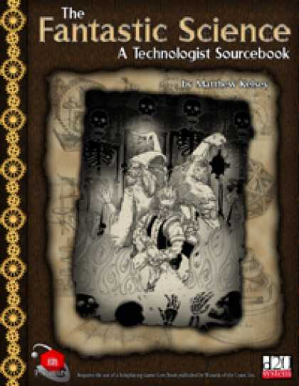 Role Playing Games - The Fantastic Science: A Technologist Sourcebook