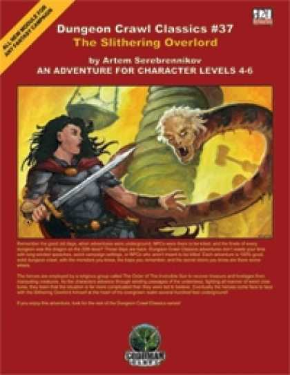Role Playing Games - Dungeon Crawl Classics #37: The Slithering Overlord