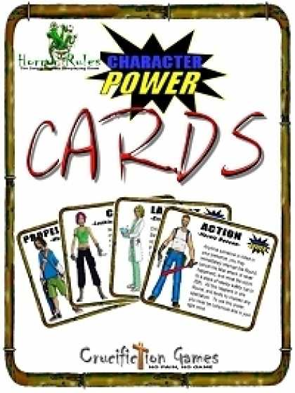 Role Playing Games - Horror Rules Character Power Cards