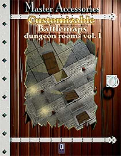 Role Playing Games - Customizable Battlemaps, dungeon rooms Vol.I