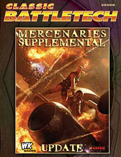 Role Playing Games - Mercenaries Supplemental Update