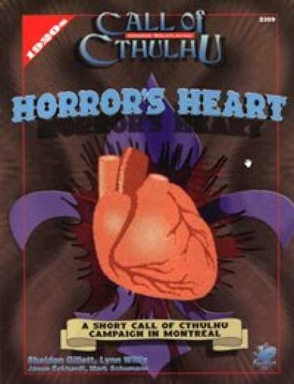 Role Playing Games - Horror's Heart