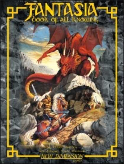 Role Playing Games - Fantasia: Book Of All Knowing—core rules