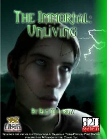 Role Playing Games - The Immortal: Unliving