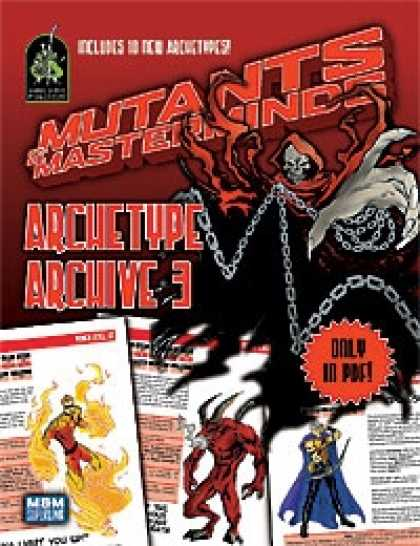 Role Playing Games - Mutants & Masterminds Archetype Archive 3