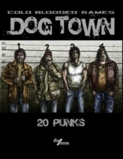 Role Playing Games - Dog Town: 20 Punks