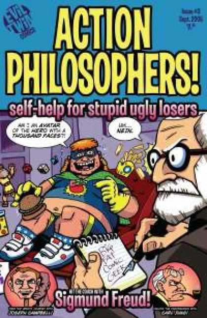 Role Playing Games - Action Philosophers #3: Self-Help for Stupid Ugly Losers