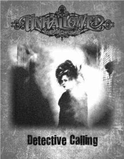 Role Playing Games - Unhallowed Metropolis - Detective Calling