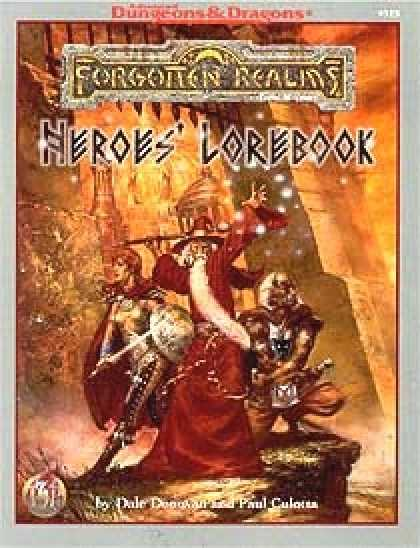 Role Playing Games - Heroes' Lorebook