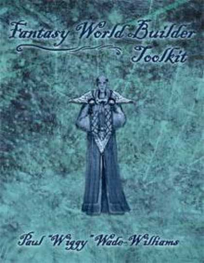 Role Playing Games - Savage Worlds Fantasy World Builder Toolkit