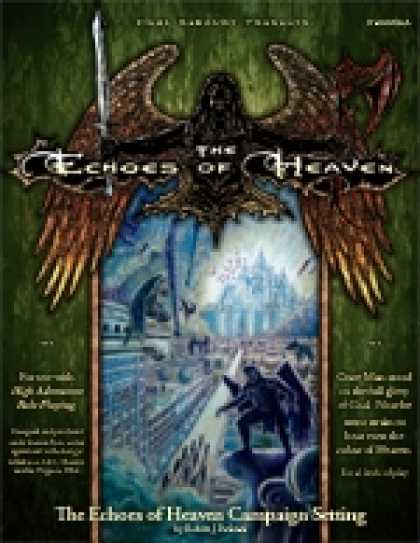 Role Playing Games - The Echoes of Heaven/The Throne of God (HARP Version)