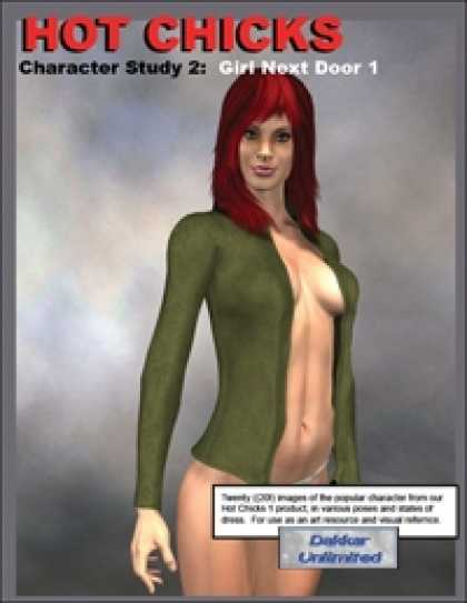 Role Playing Games - Hot Chicks Character Sketches 2: Girl Next Door 1