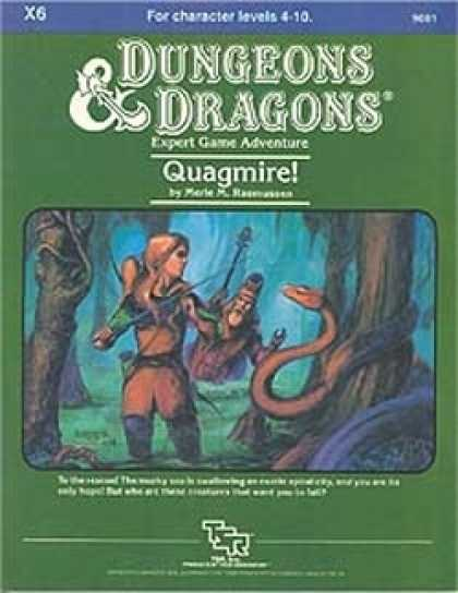 Role Playing Games - X6 - Quagmire!