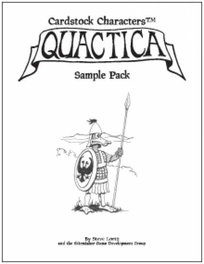 Role Playing Games - Cardstock Characters™: Quactica Sample Pack
