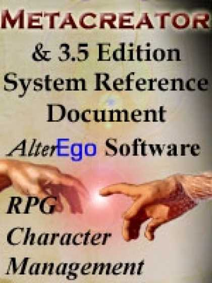 Role Playing Games - Metacreator & 3.5 Edition System Reference Document