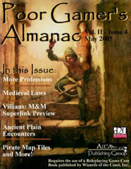 Role Playing Games - Poor Gamer's Almanac (May 2005)