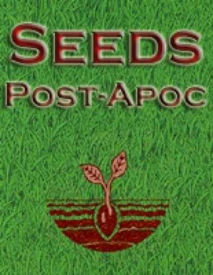Role Playing Games - Seeds: Post-Apocalyptic