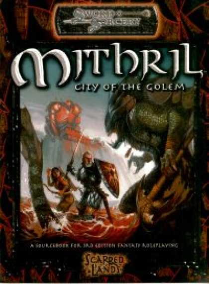 Role Playing Games - Mithril: City of the Golem