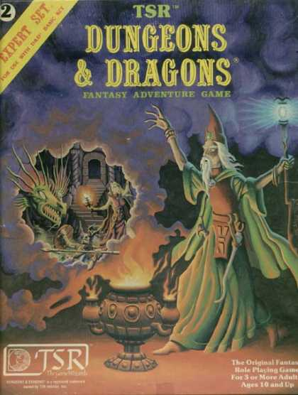 Role Playing Games - Dungeons & Dragons Expert Set