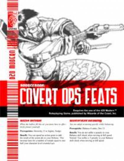 Role Playing Games - Covert Ops Feats
