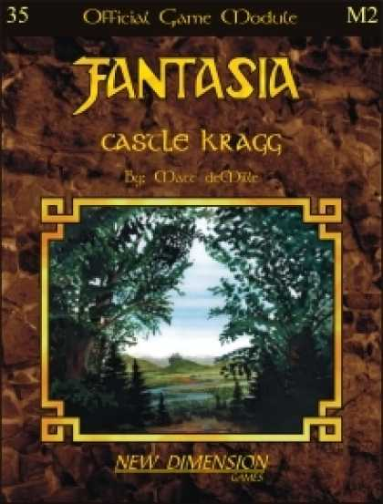 Role Playing Games - Fantasia: Castle Kragg--Module M2