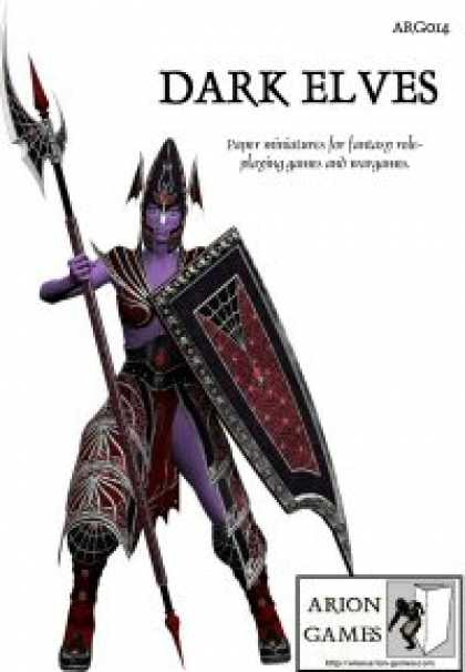 Role Playing Games - Dark Elf Set