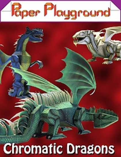 Role Playing Games - Paper Playground - Chromatic Dragons