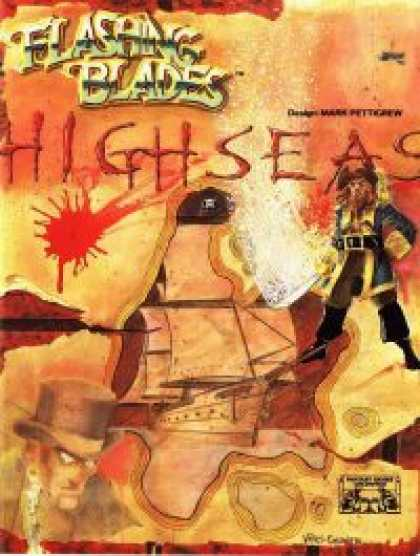 Role Playing Games - Flashing Blades: High Seas